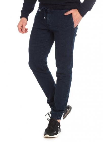 Pantaloni bărbați W. Wegener Runner 6876 Albastru