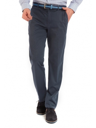 Pantaloni Bărbați W. Wegener Eton 5514 Albastru
