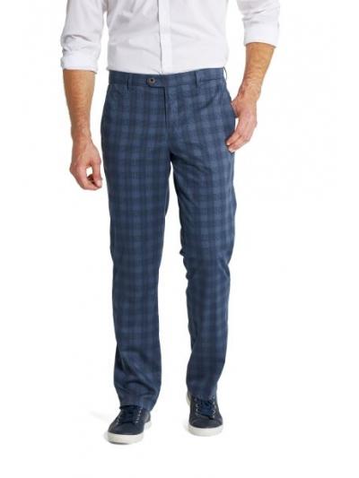 Pantaloni Bărbați W. Wegener Eton 5516 Albastru