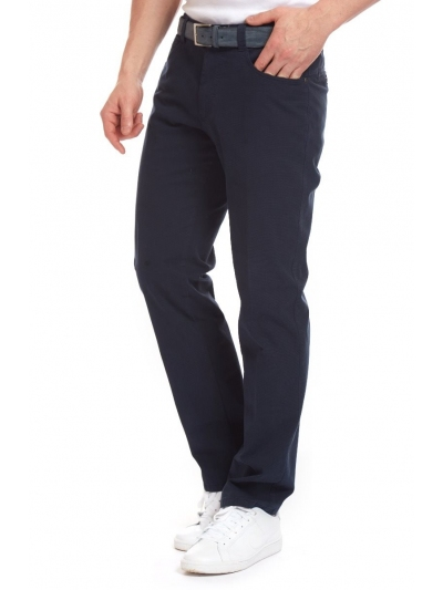 Pantaloni Bărbați W. Wegener Douglas 5554 Bleumarin