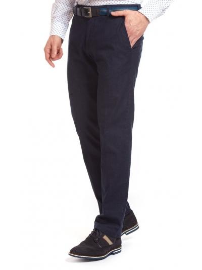 Pantaloni Bărbați W. Wegener Eton 5687 Bleumarin