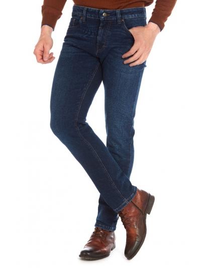Pantaloni bărbați Wegener Jeans Cordoba 6897 Albastru