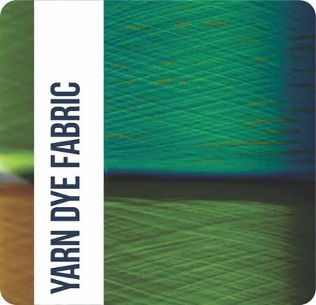 Yarn dye fabric